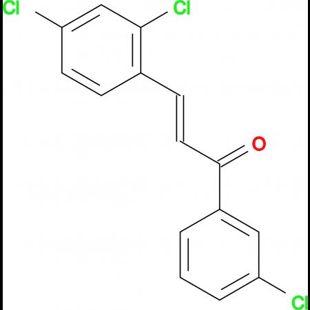 (2E)-1-(3-chlorophenyl)-3-(2,4-dichlorophenyl)prop-2-en-1-one