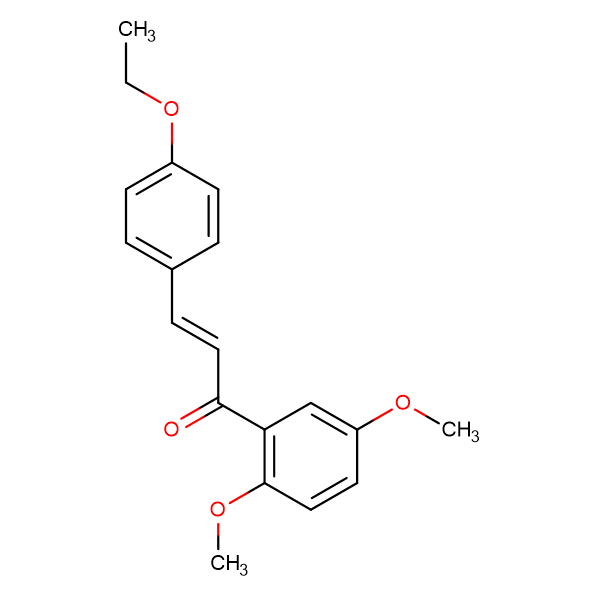 (2E)-1-(2,5-dimethoxyphenyl)-3-(4-ethoxyphenyl)prop-2-en-1-one