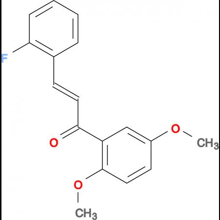 (2E)-1-(2,5-dimethoxyphenyl)-3-(2-fluorophenyl)prop-2-en-1-one