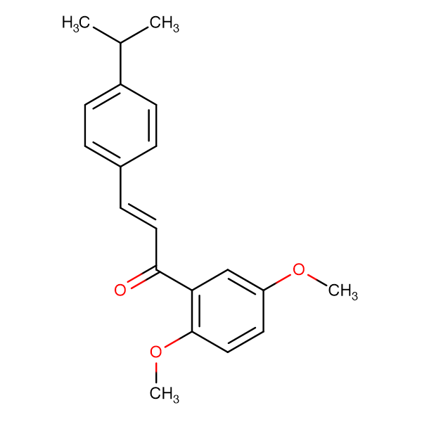 (2E)-1-(2,5-dimethoxyphenyl)-3-[4-(propan-2-yl)phenyl]prop-2-en-1-one