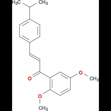 (2E)-1-(2,5-dimethoxyphenyl)-3-[4-(propan-2-yl)phenyl]prop-2-en-1-one