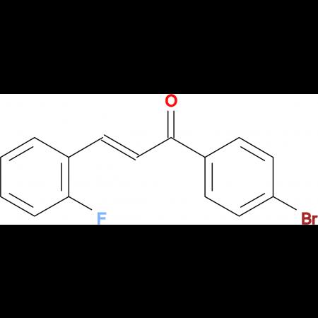 (2E)-1-(4-bromophenyl)-3-(2-fluorophenyl)prop-2-en-1-one