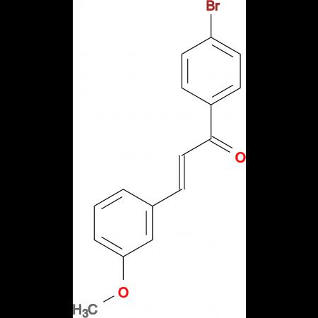(2E)-1-(4-bromophenyl)-3-(3-methoxyphenyl)prop-2-en-1-one