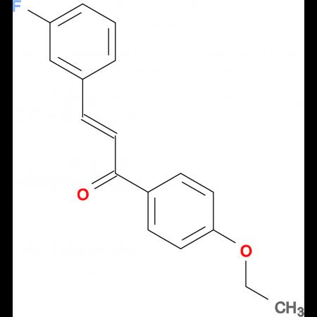 (2E)-1-(4-ethoxyphenyl)-3-(3-fluorophenyl)prop-2-en-1-one