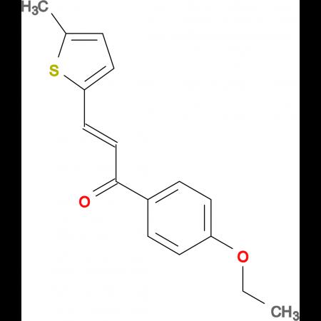 (2E)-1-(4-ethoxyphenyl)-3-(5-methylthiophen-2-yl)prop-2-en-1-one