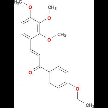 (2E)-1-(4-ethoxyphenyl)-3-(2,3,4-trimethoxyphenyl)prop-2-en-1-one