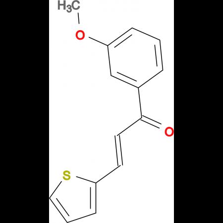 (2E)-1-(3-methoxyphenyl)-3-(thiophen-2-yl)prop-2-en-1-one