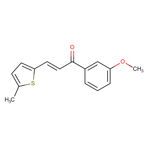 (2E)-1-(3-methoxyphenyl)-3-(5-methylthiophen-2-yl)prop-2-en-1-one
