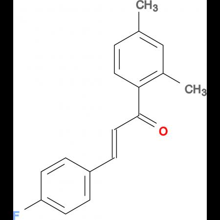 (2E)-1-(2,4-dimethylphenyl)-3-(4-fluorophenyl)prop-2-en-1-one