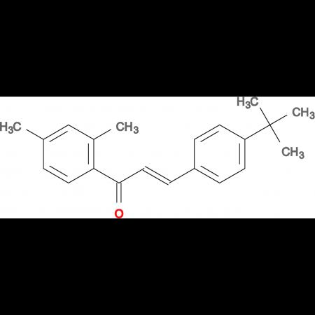 (2E)-3-(4-tert-butylphenyl)-1-(2,4-dimethylphenyl)prop-2-en-1-one