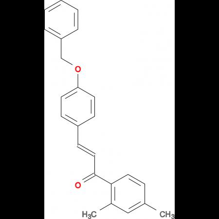 (2E)-3-[4-(benzyloxy)phenyl]-1-(2,4-dimethylphenyl)prop-2-en-1-one