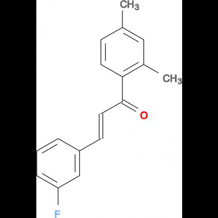 (2E)-1-(2,4-dimethylphenyl)-3-(3-fluorophenyl)prop-2-en-1-one