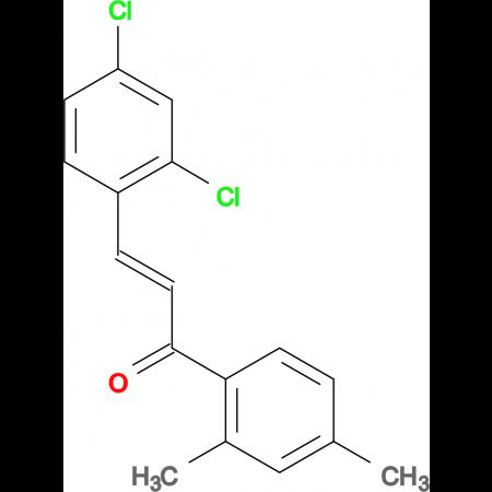 (2E)-3-(2,4-dichlorophenyl)-1-(2,4-dimethylphenyl)prop-2-en-1-one