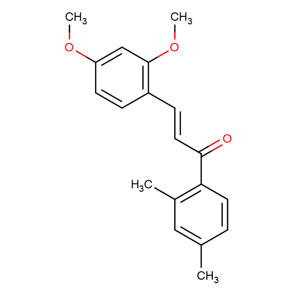 (2E)-3-(2,4-dimethoxyphenyl)-1-(2,4-dimethylphenyl)prop-2-en-1-one