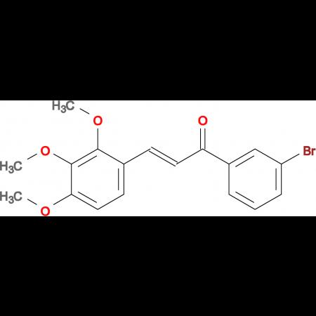 (2E)-1-(3-bromophenyl)-3-(2,3,4-trimethoxyphenyl)prop-2-en-1-one