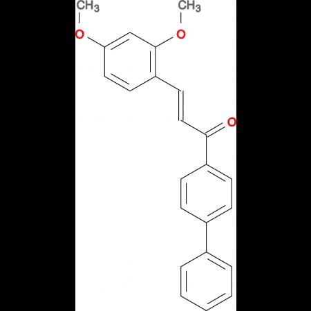 (2E)-1-{[1,1'-biphenyl]-4-yl}-3-(2,4-dimethoxyphenyl)prop-2-en-1-one