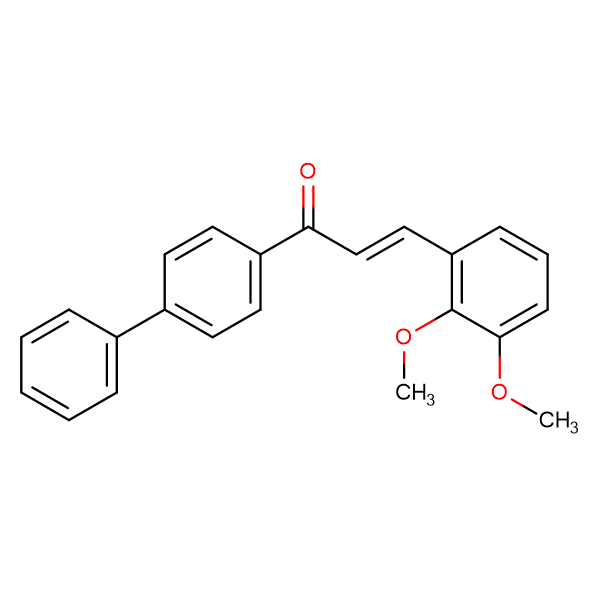 (2E)-1-{[1,1'-biphenyl]-4-yl}-3-(2,3-dimethoxyphenyl)prop-2-en-1-one