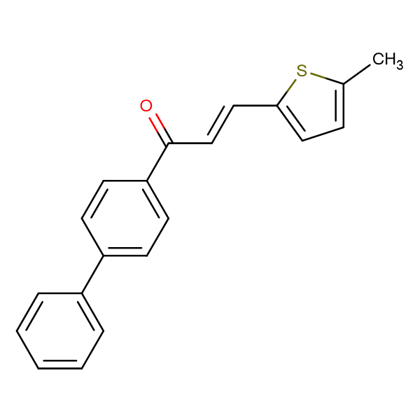 (2E)-1-{[1,1'-biphenyl]-4-yl}-3-(5-methylthiophen-2-yl)prop-2-en-1-one