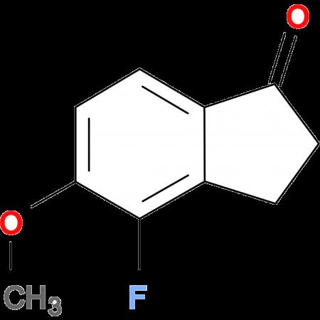 4-FLUORO-2,3-DIHYDRO-5-METHOXYINDEN-1-ONE