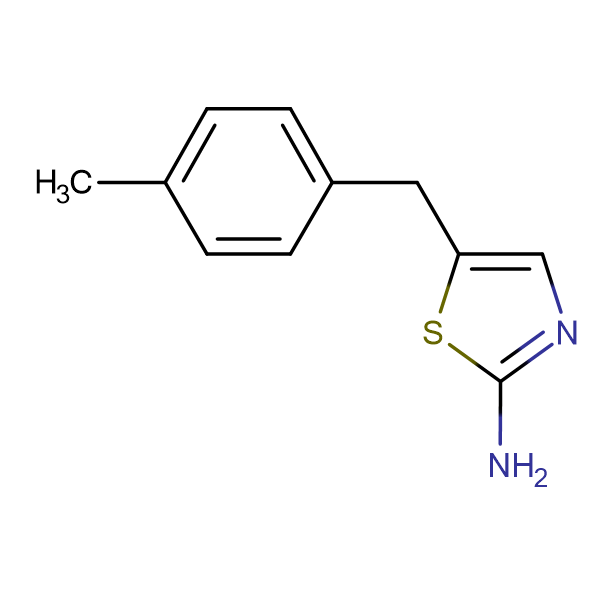 2-THIAZOLAMINE, 5-[(4-METHYLPHENYL)METHYL]-