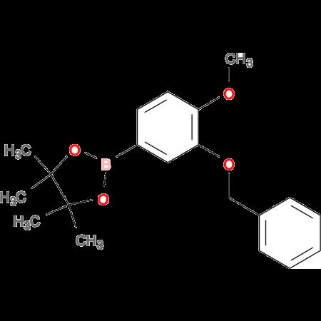 3-BENZYLOXY-4-METHOXYBORONIC ACID, PINACOL ESTER