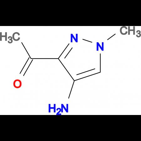 1-(4-AMINO-1-METHYL-1H-PYRAZOL-3-YL)ETHANONE