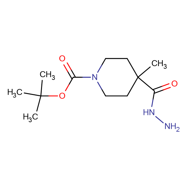 TERT-BUTYL 4-(HYDRAZINECARBONYL)-4-METHYLPIPERIDINE-1-CARBOXYLATE