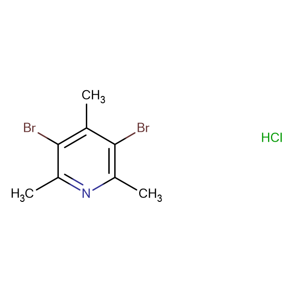 3,5-DIBROMO-2,4,6-TRIMETHYLPYRIDINE HCL