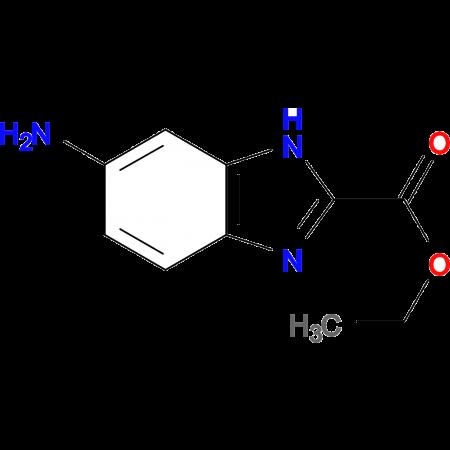 1H-BENZIMIDAZOLE-2-CARBOXYLIC ACID, 6-AMINO-, ETHYL ESTER