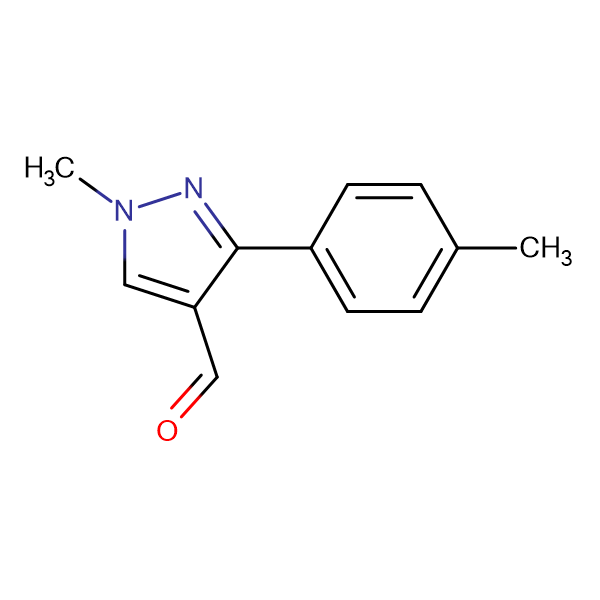 1-METHYL-3-(P-TOLYL)-1H-PYRAZOLE-4-CARBALDEHYDE