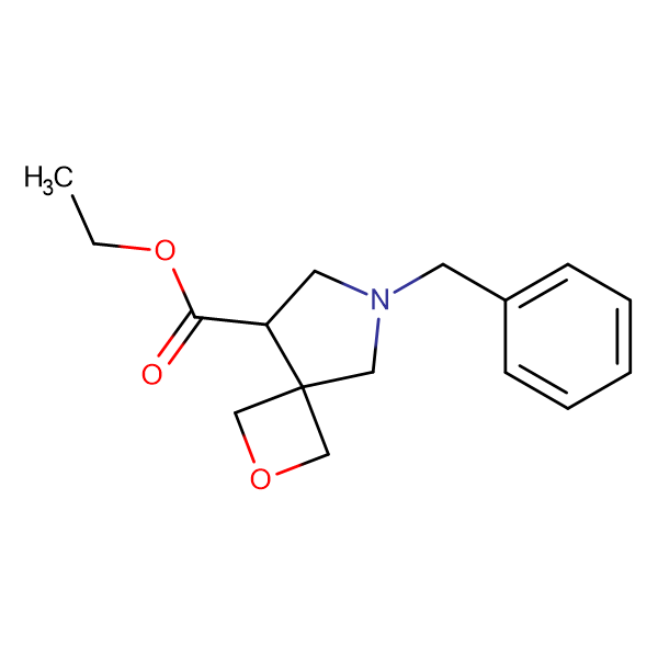 ETHYL 6-BENZYL-2-OXA-6-AZASPIRO[3.4]OCTANE-8-CARBOXYLATE