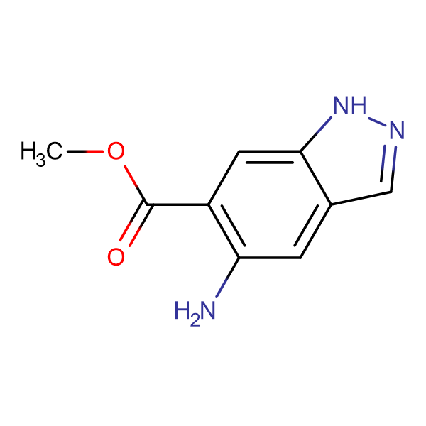 Methyl-5-amino-1H-indazole-6-carboxylate