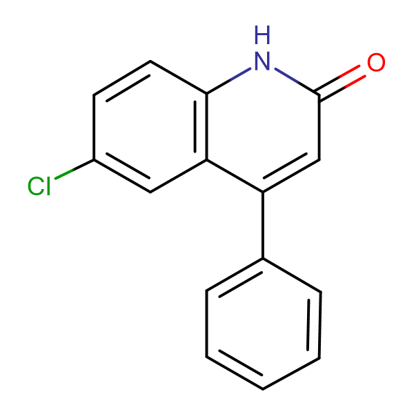 6-CHLORO-4-PHENYLQUINOLIN-2(1H)-ONE