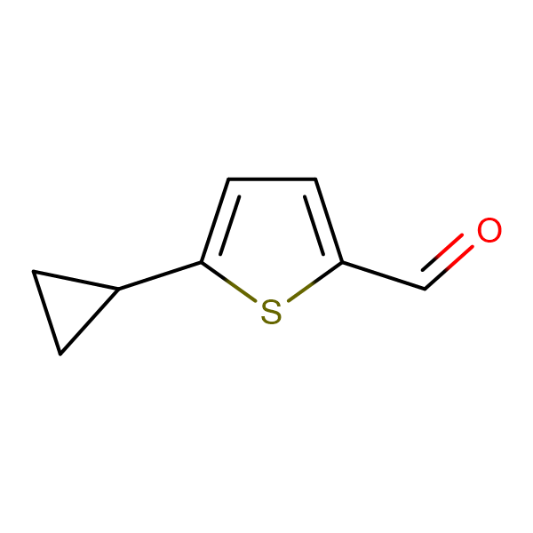 5-CYCLOPROPYLTHIOPHENE-2-CARBALDEHYDE