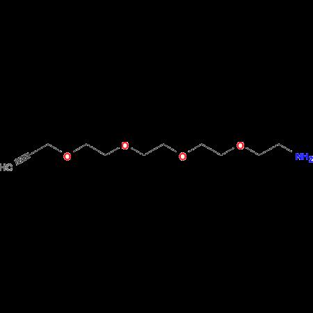 3,6,9,12-TETRAOXAPENTADEC-14-YN-1-AMINE