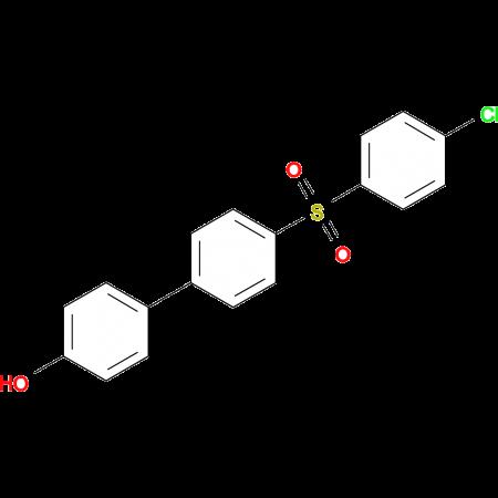 4'-((4-Chlorophenyl)sulfonyl)-[1,1'-biphenyl]-4-ol