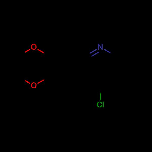 4-Chloro-6,7-dimethoxy-2-methylquinoline
