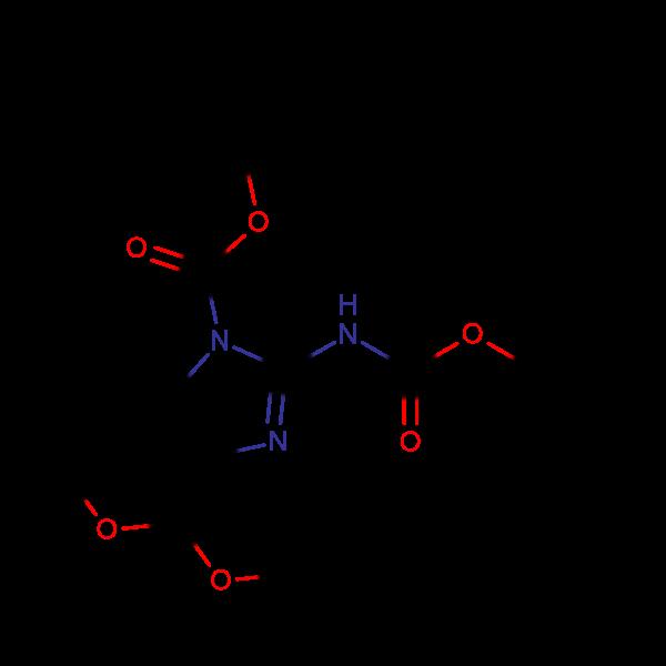 tert-Butyl 2-((tert-butoxycarbonyl)amino)-4-(dimethoxymethyl)-1H-imidazole-1-carboxylate