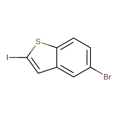 5-bromo-2-iodo-1-benzothiophene
