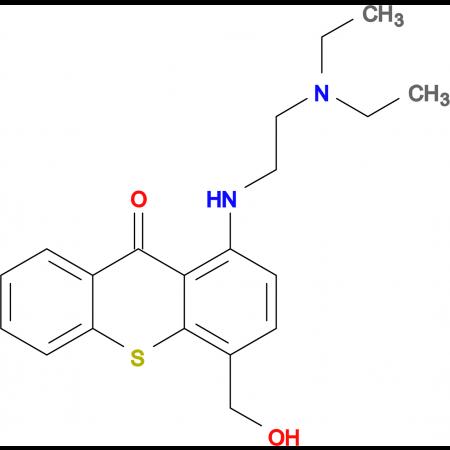 1-((2-(Diethylamino)ethyl)amino)-4-(hydroxymethyl)-9H-thioxanthen-9-one