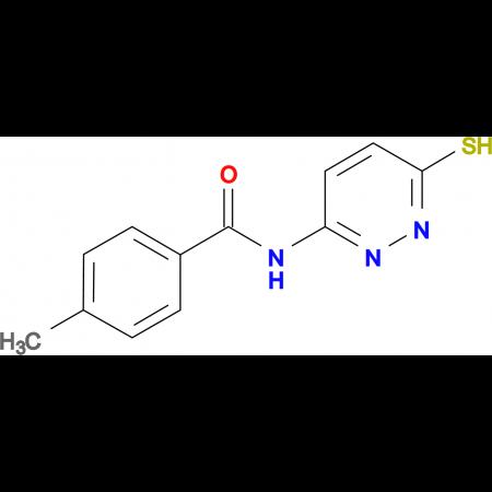 4-methyl-N-(6-sulfanylpyridazin-3-yl)benzamide
