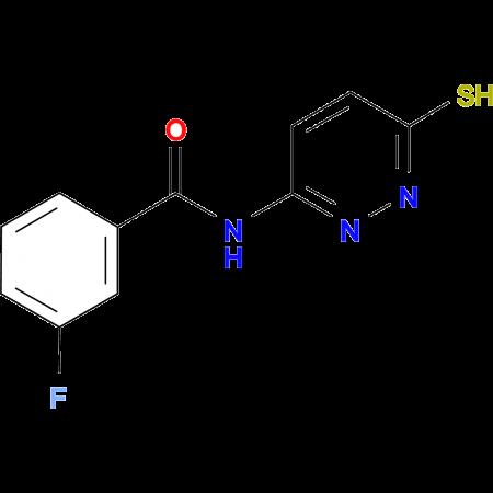 3-fluoro-N-(6-sulfanylpyridazin-3-yl)benzamide