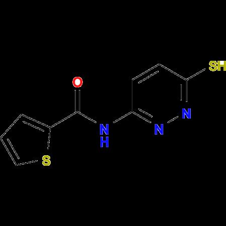 N-(6-sulfanylpyridazin-3-yl)thiophene-2-carboxamide