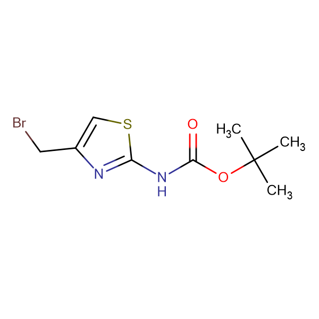 tert-Butyl (4-(bromomethyl)thiazol-2-yl)carbamate