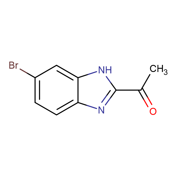 1-(6-Bromo-1H-benzo[d]imidazol-2-yl)ethanone
