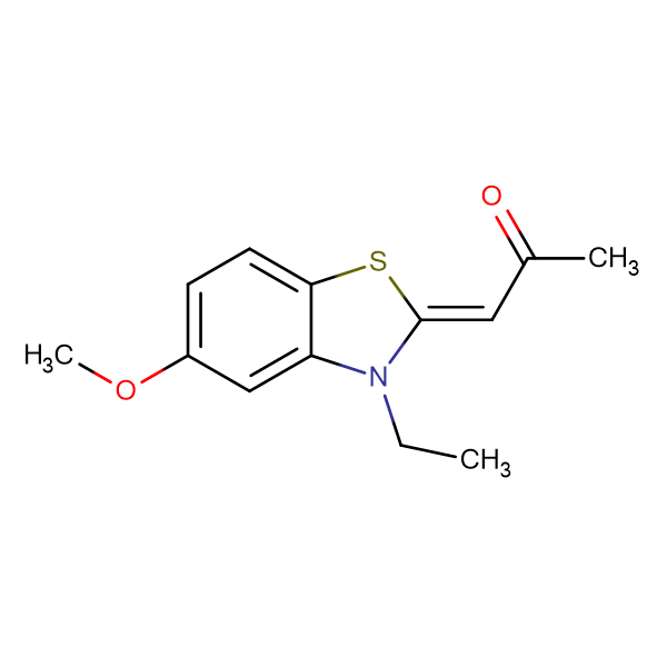 1-(3-Ethyl-5-methoxybenzo[d]thiazol-2(3H)-ylidene)propan-2-one