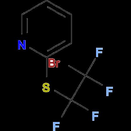 Pyridyl-2-sulfanyltetrafluorobromnoethane