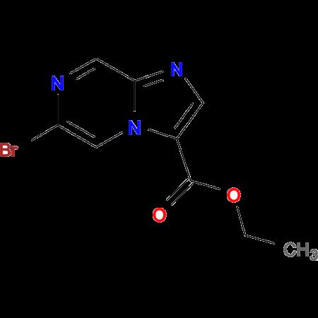 Ethyl 6-bromoimidazo[1,2-a]pyrazine-3-carboxylate