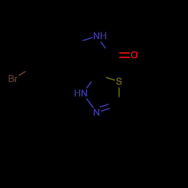 5-Bromo-5'-phenyl-3'H-spiro[indoline-3,2'-[1,3,4]thiadiazol]-2-one