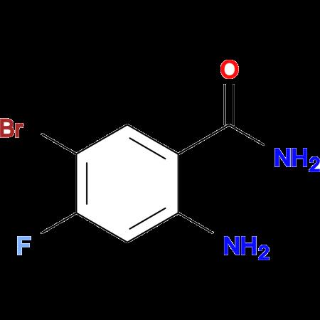2-Amino-5-bromo-4-fluorobenzamide